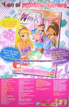 ¡¡Revista Winx Club Nº93 próximamente en España!! http://poderdewinxclub.blogspot.com.ar/2013/09/revista-winx-club-n93-proximamente-en.html