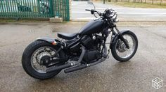 Virago Bobber 125 black Oak Virago 125 Bobber, Virago 535, Yamaha Virago, Bobber Motorcycle, Scrambler, Custom Bobber, Old Bikes, Cars And Motorcycles, Images