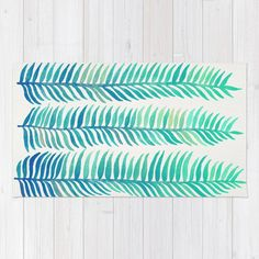Buy Tropical Banana Leaves Rug By Catyarte Worldwide Shipping Available At Society6 Just One Of Millions High Quality Products