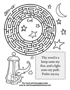 Bible Activity Pages for Kids