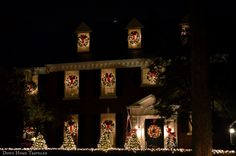 Holiday Light Hunting in Highland Park