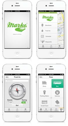 Marko / #app #iphone #prototype / Tim Carter