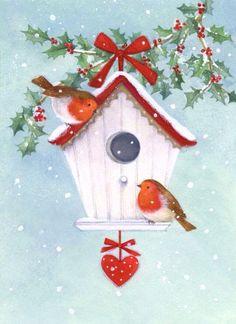 A silver Christmas decoration - HomeCNB Christmas Bird, Christmas Drawing, Christmas Scenes, Christmas Clipart, Christmas Paintings, Christmas Printables, Christmas And New Year, All Things Christmas, Winter Christmas