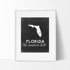 Florida Printable by SamanthaLeigh on Etsy