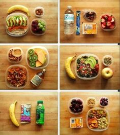 BIKINI FIT LUNCH: Healthy lunch ideas.