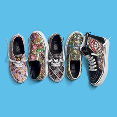 #VansKids #VansxNintendo // Vans x Nintendo presenta su colección Vans Kids