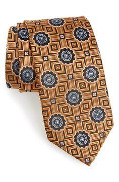 Men's J.Z. Richards Silk Medallion Tie