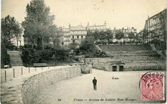 """Arènes de Lutèce. From page 68:  'Stuyvesant] set off across the heart of the Latin Quarter in the direction of the Arènes de Lutèce. Lutetia was Rome's name for the city, and the one-time arena was a restful spot in the Quarter—if one ignored the ghostly sounds of lions and dying gladiators."""" ...Rome still protrudes from the foundations of Paris. On the Right Bank remains are primarily found in the shapes of the roads, but in the Latin Quarter, Roman baths... and the Arena can still be…"""