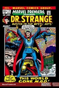 Marvel Premiere #3 starring Dr. Strange courtesy Marvel