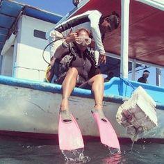 From snorkeling in Maldives to scuba diving in Bali  #traveller #backpacker #globetrekker #globetrotter #scuba #diving #explore #adventure #YOLO #underwater #watersports #waterlover #lovingmylife #awesome by crazburn http://bit.ly/AdventureAustralia