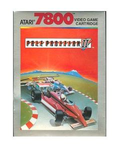 pole position ii 2  #atari  7800 video game w.instruction leaflet excellent namco from $2.99