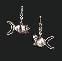 FISH EARRINGS By Alexander Calder ,1932