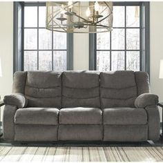 Gavin Foliage/Herb Power Reclining Sofa W/ Drop Down Table | Furniture |  Pinterest | Reclining Sofa