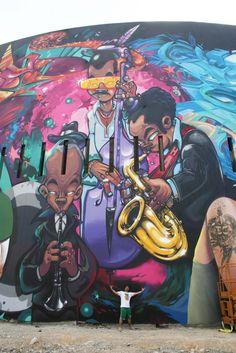 Bienal do Graffiti leva suas cores ao Parque do IbirapueraZupi