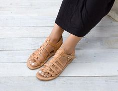 THERA Gladiator sandals Spartan sandals Greek sandals
