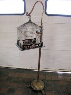 Antique Toys and curios auction -Monday 17th March at 5pm Vintage bird cage