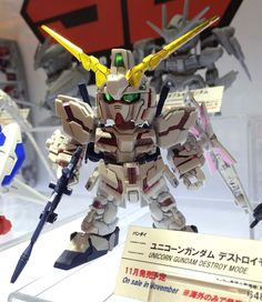 DETAILED PHOTOREPORT: SD GUNDAM EX-STANDARD Unicorn Gundam Destroy Mode @ All Japan Model and Hobby Show. No.15 Hi Resolution Images http://www.gunjap.net/site/?p=275552