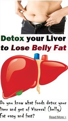 The main reason why your body stores visceral fat is that your liver needs a detoxing program. Also called belly fat, this type of fat is not used by your body for energy and wreaks havoc on your health. Diabetes is strongly linked to the presence of visc Diet Plans To Lose Weight, How To Lose Weight Fast, Weight Gain, Zumba, Detox Your Liver, Liver Cleanse, Cleanse Diet, Fat Flush, Visceral Fat