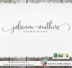 Premade Logo  Photography Logo  sewing logo  shop by autumnscreek