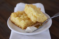 The Best Cornbread {and Fluffy Honey Butter} mels kitchen