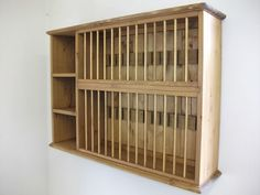 Pine wall 28 plate rack unit made by our own carpenters & handmade pine plate rack by hafod farm | notonthehighstreet.com ...