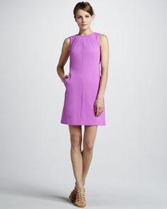 love. Capreena Crepe Shift Dress by Diane von Furstenberg at Neiman Marcus.