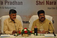 Addressed a joint press conference with Union Minister @dpradhanbjp on oil and gas projects in Andhra Pradesh.