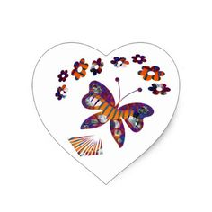 Caterpillar Into Stunning Butterfly Heart Sticker - graduation stickers grad sticker idea unique customize diy Jewelry Quotes, Jewelry Art, Graduation Stickers, Butterfly Art, Diy Stickers, Caterpillar, Make Your Own, Heart, Unique