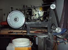 Shank Knives How to Build a Belt Grinder, How to Make Your Own Custom Homemade 2x72 Belt grinder Plans