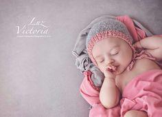Newborn bonnet by naticolucci  PH Florencia Melero Rodriguez