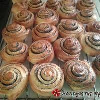 Σουηδικά Ψωμάκια Κανέλλας