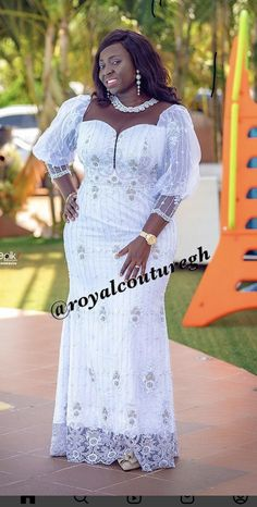 African Wear, African Dress, Wedding Stage, African Fashion Dresses, Dress Styles, All White, Marrakech, Sally, White Dress