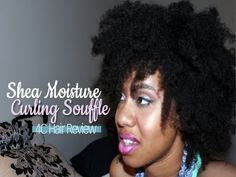 Shea Moisture Curling Souffle Review on 4C Hair