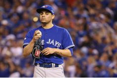 Blue Jays closer Roberto Osuna was one of a limited pool of relievers manager John Gibbons trusted in the post-season.