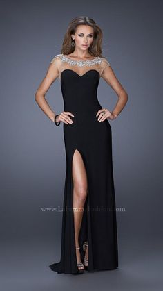La Femme 19787   La Femme Fashion 2014 - La Femme Prom Dresses - Dancing with the Stars
