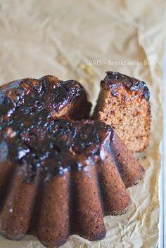 Torta di datteri - senza burro e con farina integrale