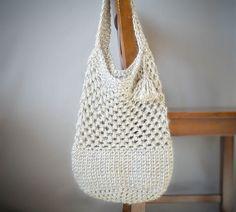 Manhatten Market Tote Free Crochet Pattern