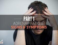 Adrenal Fatigue: Signs And Symptoms...Part 1...