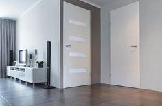 #binnendeur #woonkamerdeur #haldeur #strak #design #interieur #modern #wit #deur