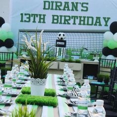 Football Theme Birthday Party Venue Venues Themes