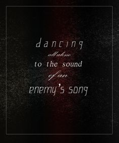 Dancing all alone, to a sound of an enemy's song. Paramore- part ll : new album Paramore Lyrics, Song Lyrics, Best Song Ever, Best Songs, Story Inspiration, Writing Inspiration, Writing Prompts, Writing Ideas, Character Prompts