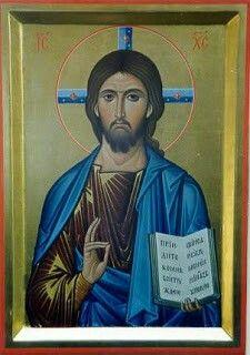 Cristo Zenone Religious Icons, Religious Art, Orthodox Christianity, Art Icon, Orthodox Icons, Jesus Christ, Father, Spas, Oil Paintings