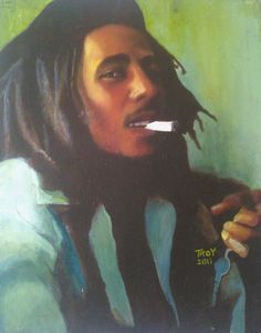 Original Bob Marley Acrylic Painting, Bob Marley Portrait, Original Artwork, Commission Work Available    ...BTW, you may want to visit:   http://artcaffeine.imobileappsys.com