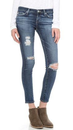 Ag Adriano Goldschmied Ankle Jeans