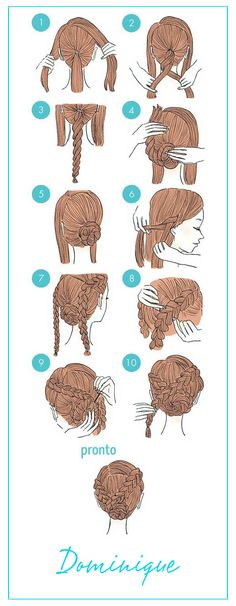 Splendid If you're feeling bored with your usual hairstyle but just don't want to go through all the expense and hassle of visiting the stylist, we have the perfect post for you. (cute hairstyles for school first day) Easy To Do Hairstyles, Cute Simple Hairstyles, Elegant Hairstyles, Easy Hairstyle, African Hairstyles, Teenage Hairstyles, Amazing Hairstyles, Prom Hairstyles, Hairstyle Ideas