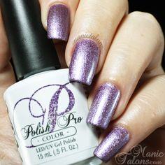 NSI Polish Pro Signature Gel Polish - Irresistible | Perfect Frosty Purple