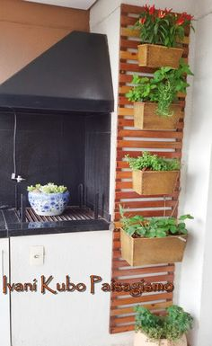 Ivani Kubo Paisagismo: Um jardim para chamar de seu... na varanda do apartamento!...