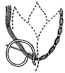 Couching - Categoría: puntadas de bordado - Wikimedia Commons