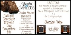 Chocolate Brownies...Yum!  Order your candles here! www.jewelryincandles.com/store/warhawk  Like me on Facebook: www.facebook.com/warhawksjewelryincandles