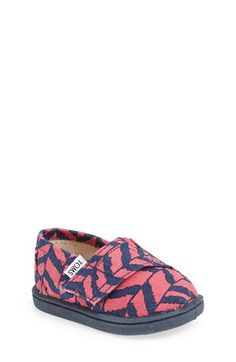 TOMS 'Classic - Tiny' Print Slip-On (Baby, Walker & Toddler) available at #Nordstrom